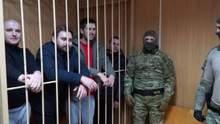Росія відпустить полонених українських моряків до кінця серпня