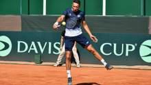 Кубок Девіса: Угорщина вийшла вперед у протистоянні з Україною