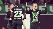 """""""Александрия"""" потерпела первое поражение в Лиге Европы, проиграв """"Вольфсбургу"""""""