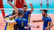 Сборная Украины по волейболу выиграла второй матч на Евро-2019