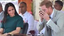 Принц Гарри и Меган Маркл отдохнули с сыном в пабе: фото