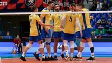 Сборная Украины сенсационно вышла в 1/4 финала чемпионата Европы по волейболу
