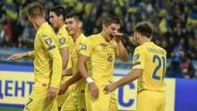 Сборная Украины в меньшинстве победила Португалию и вышла на Евро-2020