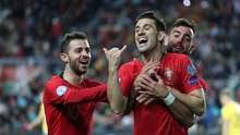 Євро-2020:  Португалія та ще 16 збірних гарантували собі участь у чемпіонаті Європи