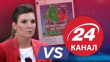 Как создаются фейки: Скабеева цинично сманипулировала инфографикой 24 канала