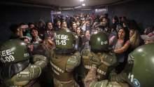 Метро подорожало на 1 гривну: в столице Чили – массовые протесты, объявили ЧП