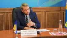 Глава Киевской ОГА уходит в отставку