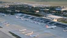 """Аеропорт """"Бориспіль"""" зупинив роботу терміналів через загрозу хімотруєння: що відомо"""