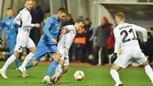Украина вырвала победу над Эстонией благодаря голу после рикошета в добавленное время: видео