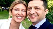 Олена Зеленська дізналася про намір чоловіка стати президентом із соціальних мереж