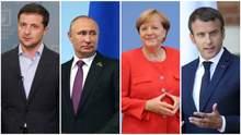 """""""Нормандська четвірка"""" вже погодила документ, який підпишуть на саміті, – ЗМІ"""