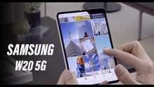 Samsung представила свой второй гибкий смартфон W20 5G: фото и характеристики