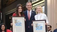 """Актрисы """"Холодного сердца"""" получили звезды на Голливудской аллее славы: фото с церемонии"""