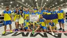 Українська команда виграла чемпіонат світу з MMA, завоювавши 11 медалей