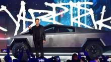 Илон Маск представил футуристический пикап Tesla Cybertruck: характеристики и цена