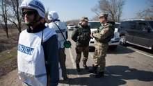 ОБСЕ зафиксировала выстрелы на участке разведения в Петровском: реакция штаба ООС