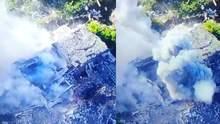 Ювелирная точность: украинские бойцы эффектно уничтожили позицию боевиков – видео