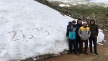 Летом и не пахнет: курортную Анталью неожиданно засыпало снегом – фото