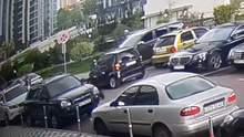 Стрельба в Киеве: появилось видео нападения на главаря наркокартеля