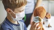 З якого віку дітям можна носити маску
