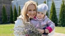 Лилия Ребрик очаровала сеть фотографией маленькой дочки