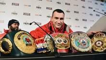 Владимиру Кличко вернули все пояса, которые он потерял в бою с Фьюри