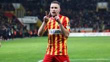 Футболист сборной Украины отметился голом за европейский клуб в спарринге: видео