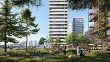 1500 квартир и огромный парк: в Лондоне построят современный квартал с жильем и офисами – фото