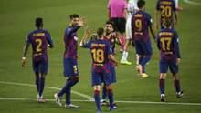 """""""Барселона"""" без проблем перемогла """"Наполі"""" та вийшла в 1/4 фіналу Ліги чемпіонів: відео"""