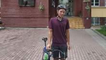Парень из Черкащины проехал 500 километров на велосипеде, чтобы подать документы в университет