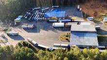 Пробка на украинско-белорусской границе: грузовики – до сих пор в длинной очереди