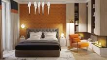 Камін в спальній кімнаті: переваги електрокаміна та ідеї розміщення