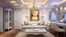 Вітальня у класичному стилі: як зробити її ідеальною