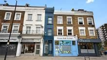 Самый узкий дом Лондона выставили на продажу: что внутри здания шириной 1,8 метра – фото
