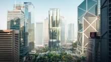 У вигляді космічного корабля: в Гонконзі з'явиться багаторівневий паркінг від Захи Хадід – фото