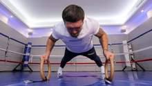 Гора мышц и убийственная мощность: Усик показал, как готовится к Чисоре – видео