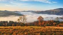 Прогноз погоди на 26 жовтня: в Україні буде сухо, тепло й туманно