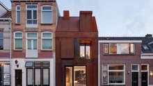 Іржава сталь: в Нідерландах з'явився будинок, який повільно з'їдає корозія – фото