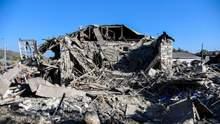 Улицы в руинах: в сети показали страшные последствия обстрела Степанакерта – видео