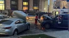Подозреваемого в ДТП на Майдане доставили в суд на каталке: фото