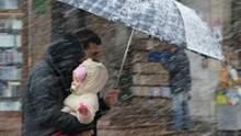 Прогноз погоди на 24 листопада: у центрі та на сході дощитиме зі снігом