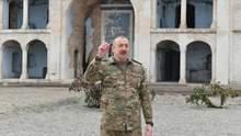 Алиев посетил Агдам – центр первого района, который Армения освободила по договоренностям: фото