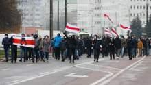 Марш соседей и силовой разгон людей: что происходит в Беларуси 29 ноября – фото, видео