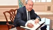 Президент Армении Саркисян поехал в Москву: первые детали
