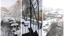 Західну Україну замело рясним снігом: казкові фото