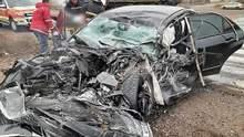 На Миколаївщині у жахливій автотрощі загинули люди: фото
