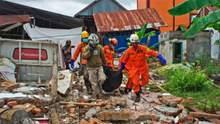 Землетрус в Індонезії: кількість жертв зросла до 56