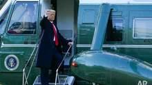 Трамп виступив з прощальним зверненням і залишив Байдену листа