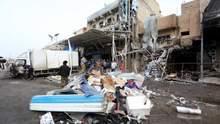 Теракт на ринку в Багдаді: щонайменше 20 загиблих – жахливе відео вибуху 18+