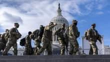 На інавгурації Байдена у США сотні військових заразилися коронавірусом